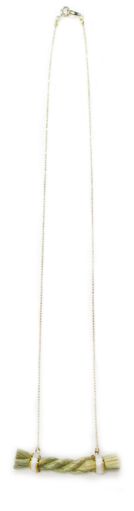 Shimenawa1 Gold Necklace